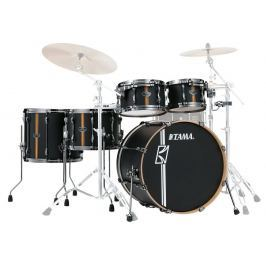 Tama Superstar Hyper-Drive Duo Flat Black Vertical Stripe