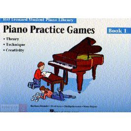MS Hal Leonard Student Piano Library: Piano Practice Games Book 1