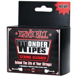 Ernie Ball Wonder Wipes String Cleaner 6-Pack