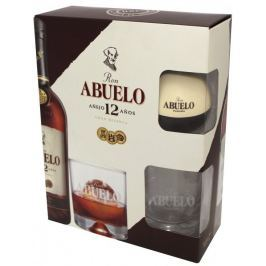 Ron Abuelo 12yo Ice and Glass set 0,7l 40% GB