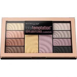 MAYBELLINE New York Total Temptation Shadow & Highlight Palette 12 g